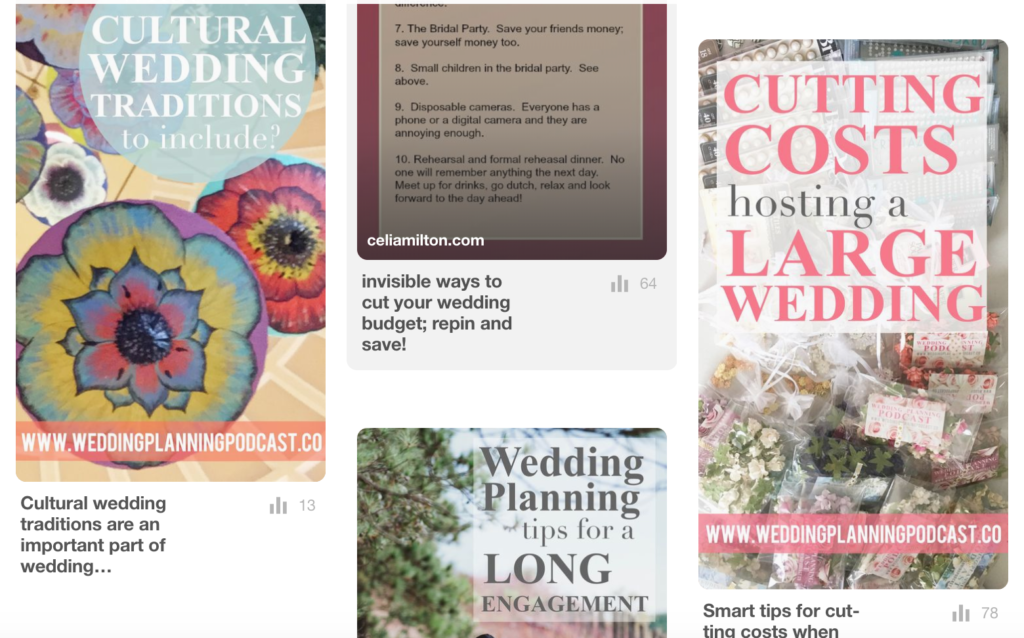 wedding planning podcast on pinterest