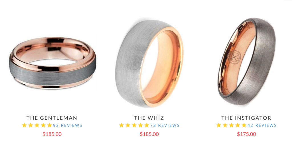 wedding ring shopping tips