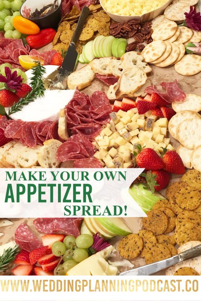 diy wedding appetizers cheap